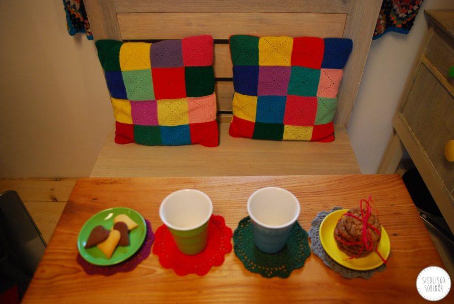 Colorful granary