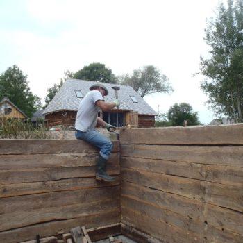 Budujemy saunę.