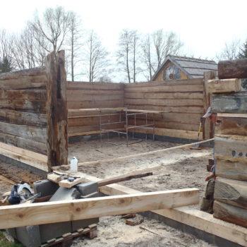 Stodoła - kolejny etap prac