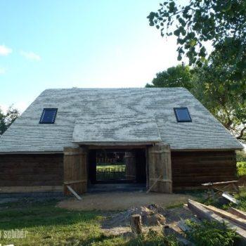 Stodoła - krycie dachu