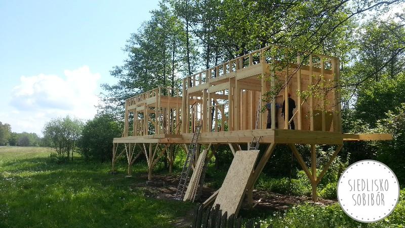 Konstrukcja ścian i dachu