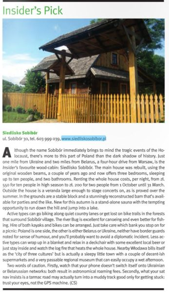 Artykuł w Warsaw Insider #206 October 2013