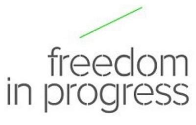 Freedom in progress