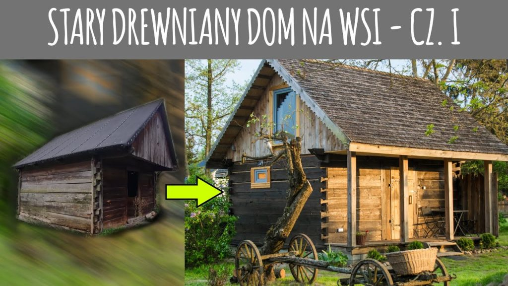 Rozbiórka starego domu z drewnianych bali - VLOG Siedlisko od Kuchni